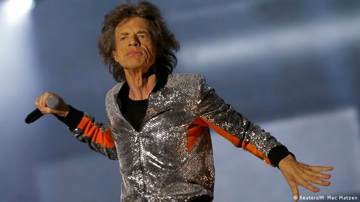 The Rolling Stones performing in Hamburg (Reuters/M. Mac Matzen)