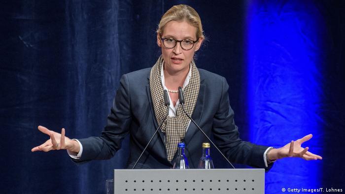 Alice Weidel, AfD Wahlkampf in Pforzheim