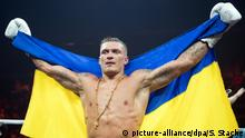 Boxen Ali-Trophy   Alexander Usyk, Sieger gegen Marco Huck
