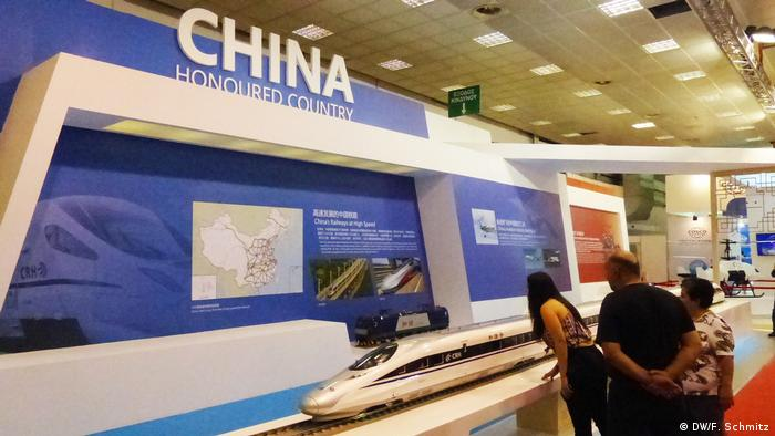 Griechenland Internationale Handelsmesse in Thessaloniki | Gastland China (DW/F. Schmitz)