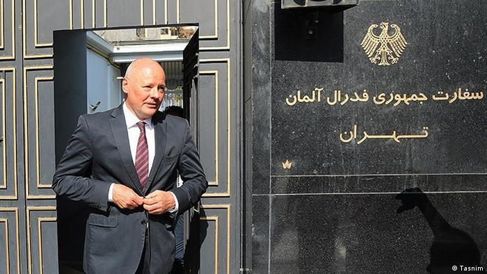 Michael Klor-Berchtold, Deutscher Botschafter im Iran