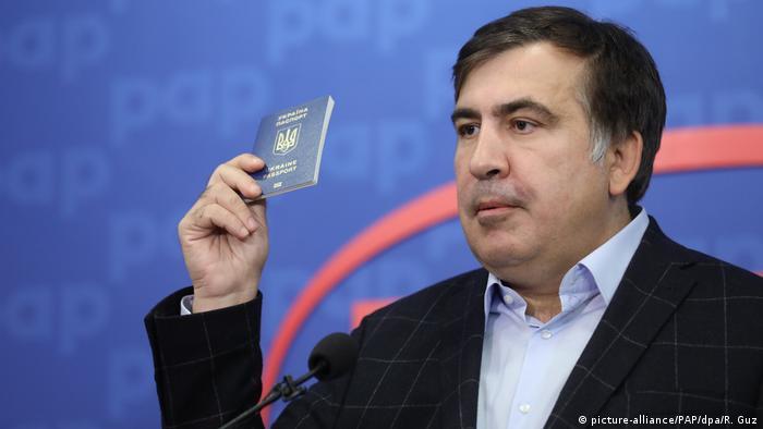 Міхеіл Саакашвілі з українським паспортом