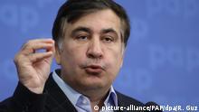 Rückreise von Polen in die Ukraine - Politiker Micheil Saakaschwili
