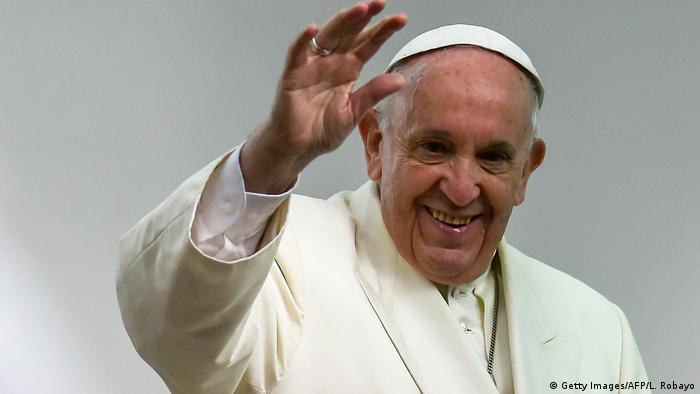 Kolumbien - Papstbesuch - Abschied (Getty Images/AFP/L. Robayo)