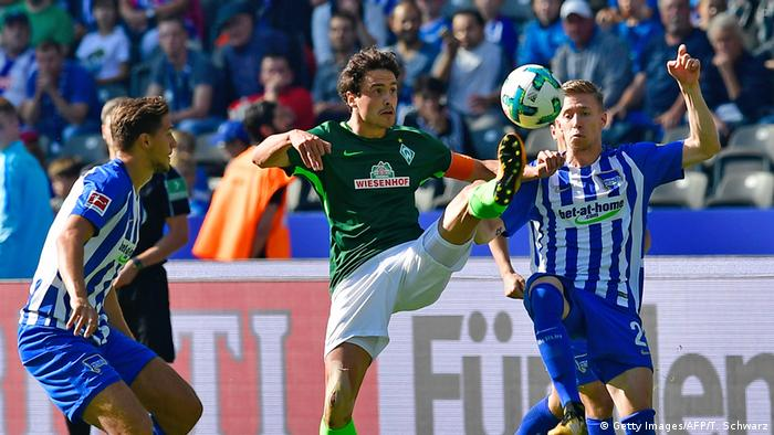 Bundesliga - Hertha BSC Berlin vs SV Werder Bremen (Getty Images/AFP/T. Schwarz)