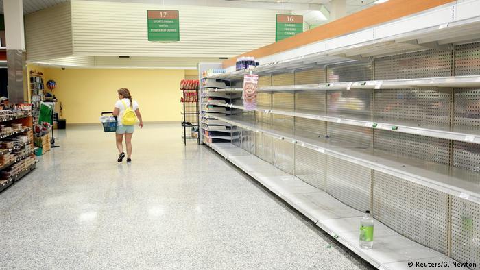 Florida Hurricane Irma Hamsterkäufe (Reuters/G. Newton)