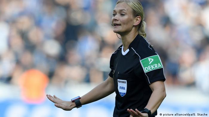 Bibiana Steinhaus: 'Being a referee is about quality of performance - not gender'