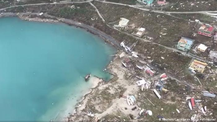 British Virgin Islands after Hurricane Irma