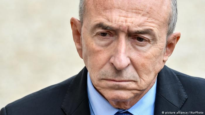 Frankreich Innenminister Gerard Collomb (picture alliance / NurPhoto)