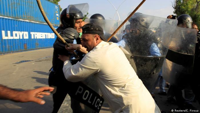 Krise Myanmar - Islamabad Protest (Reuters/C. Firouz)