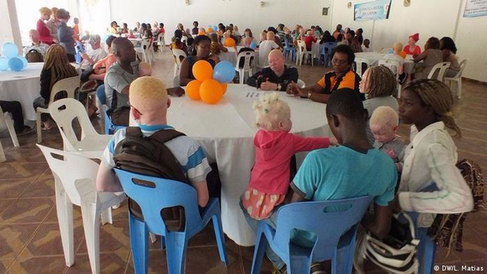 Mosambik - Kampagne Albinismus
