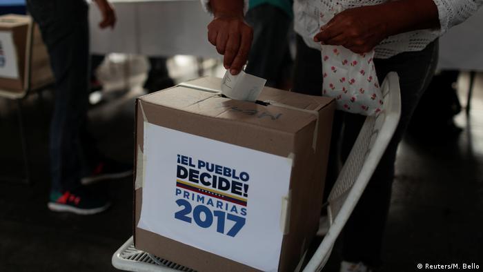 Venezuela Krise - Wahlen (Reuters/M. Bello)