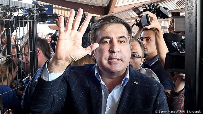 Міхеіл Саакашвілі незаконно прорвався через український кордон
