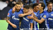 Bundesliga Schalke vs Berlin Jubel