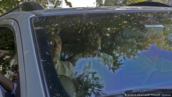 Brasilien Sao Paulo Verhaftung Joesley Batista (picture-alliance/AP Photo/N. Antoine)