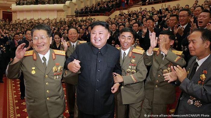 Nordkorea Kim Jong Un (picture-alliance/Newscom/KCNA/UPI Photo)