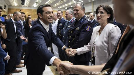 Alexis Tsipras Griechenland (picture-alliance/dpa/G.Papan)