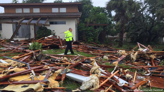 Fallout from Hurricane Irma in Palm Bay