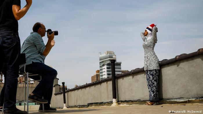 Bildergalerie Ex-Flüchtling Halima Aden wird Hijab Model in USA (Reuters/B. McDermid)