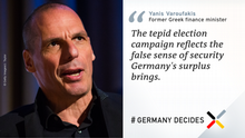 Twitter-Card von Yanis Varoufakis english