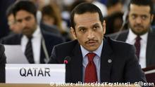 UN-Menschenrechtsrat | Scheich Mohammed bin Abdulrahman bin Jassim Al-Thani, Außenminister Katar