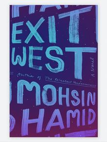 Book cover Mohsin Hamid Exit West