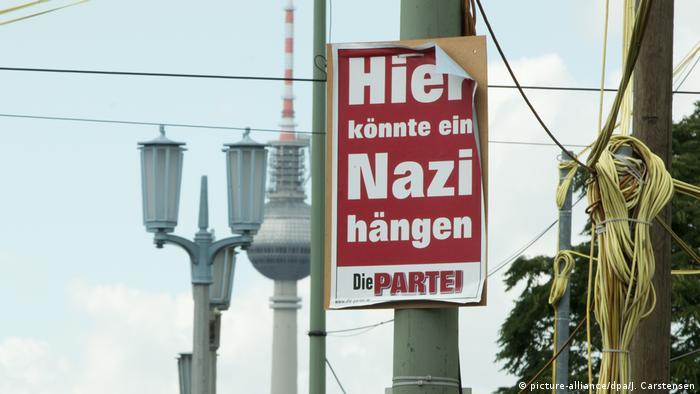 Deutschland Bundestagswahl Wahlplakat Die Partei