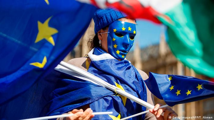 London Marsch für die EU (Getty Images/AFP/T. Akmen)
