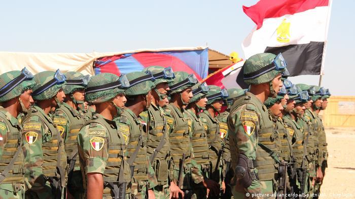 Ägypten Armee Übung