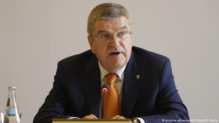 Peru Lima IOC Thomas Bach (picture-alliance/AP Photo/M. Mejia)