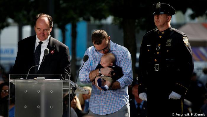 خلال تخليد ذكرى ضحايا 11 سبتمبر