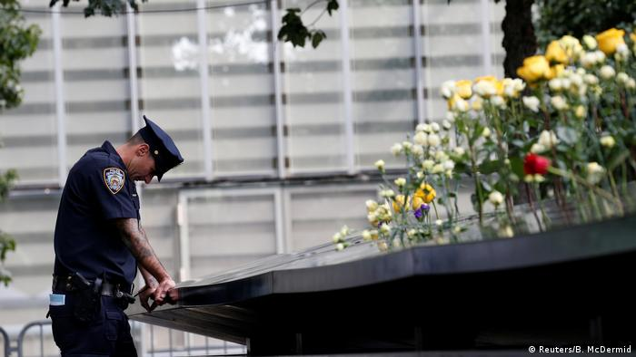 USA Gedenken an Anschläge vom 11. September 2001 | New York (Reuters/B. McDermid)