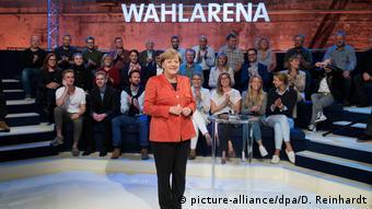 Η Άγκελα Μέρκελ προς Τούρκους στην εκπομπή Wahlarena του ARD: «Σας εμπιστευόμαστε»