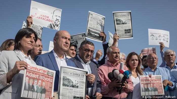 Türkei Istanbul Cumhuriyet Prozess