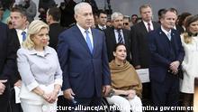 Argentinien Buenos Aires Benjamin Netanjahu Gedenken Anschlag Botschaft