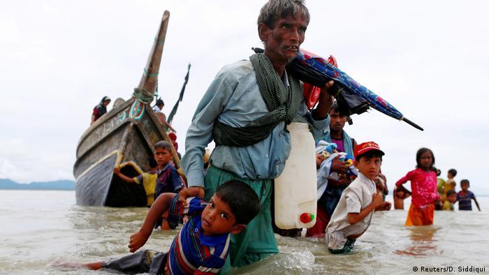 میلیونها نفر از مسلمانان روهینگا از میانمار گریختهاند