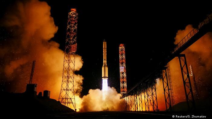 Kasachstan Hispasat Amazonas 5 Raketenstart