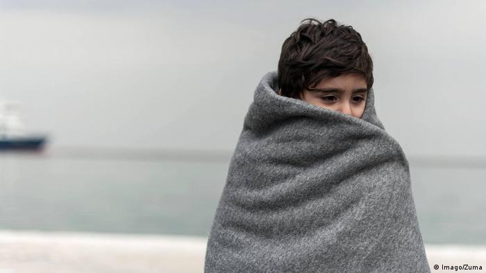 Lesbos Minderjähriger Flüchtlinge