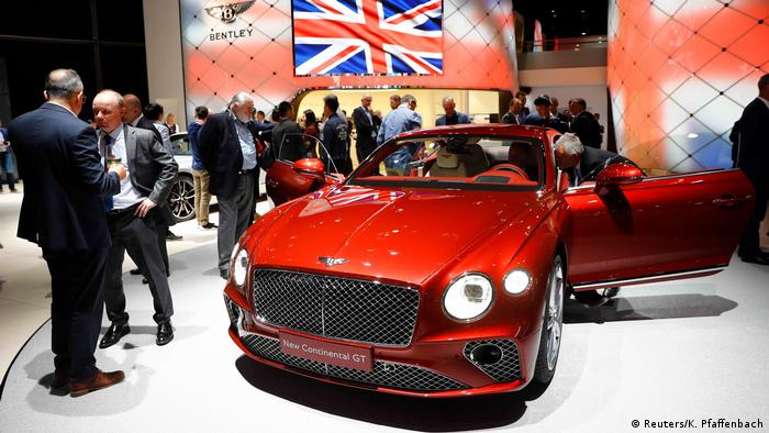 Bentley Continental GT (Reuters/K. Pfaffenbach)