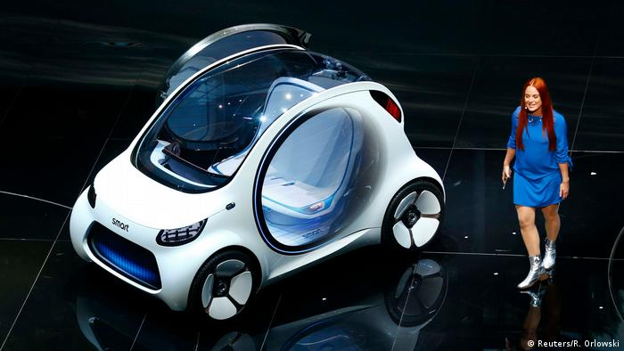 Электрический концепт-кар Smart