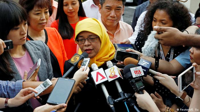 Singapore to get first female president, Halimah Yacob, without vote