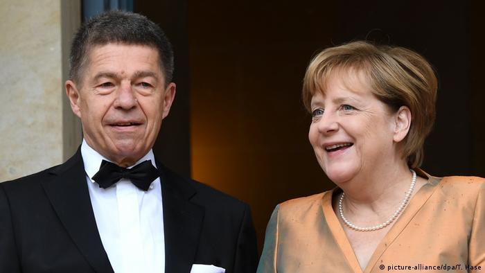 Ангела Меркель с супругом Йоахимом Зауэром