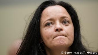 Deutschland NSU-Prozess Beate Zschäpe (Getty Images/A. Gebert)