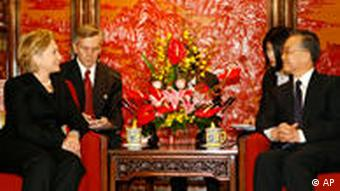Clinton in China