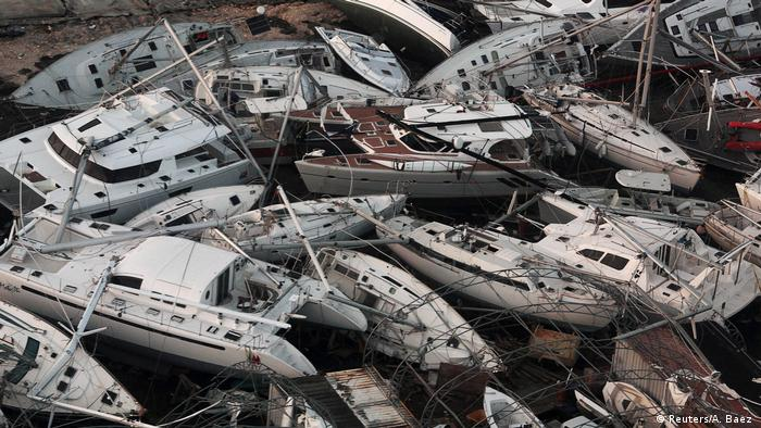 Bildergalerie Irma Folgeschäden Sint Maarten (Reuters/A. Baez )