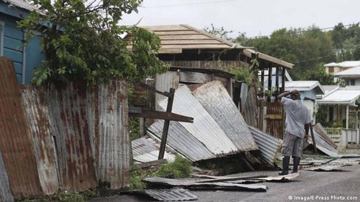 Bildergalerie Irma Folgeschäden Barbuda (Imago/E-Press Photo.com)
