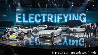 Презентация электромобилей компании BMW
