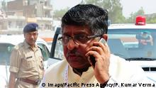 Ravishankar Prasad (Imago/Pacific Press Agency/P. Kumar Verma)