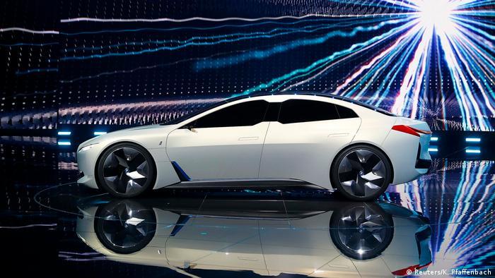 BMW i Vision на Франкфуртском автосалоне