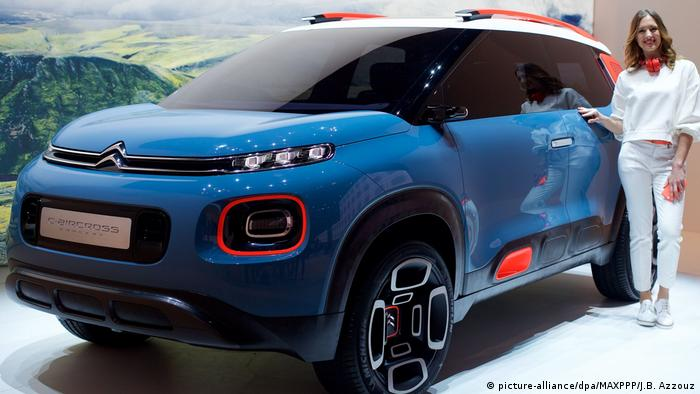 Citroën C3 Aircross (picture-alliance/dpa/MAXPPP/J.B. Azzouz)